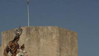 Perfil de los cargadores de la virgen del Carmen de Tarifa.  Foto: Shus Terán