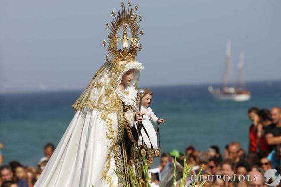 Procesión del Carmen en La Línea.  Foto: Joaquín Quiñones
