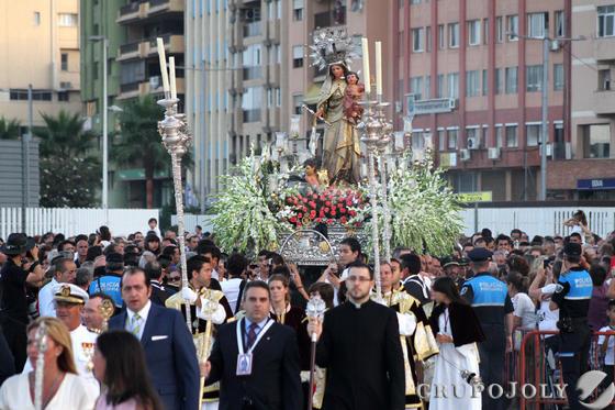 Virgen del Carmen de Algeciras.  Foto: Fran Montes
