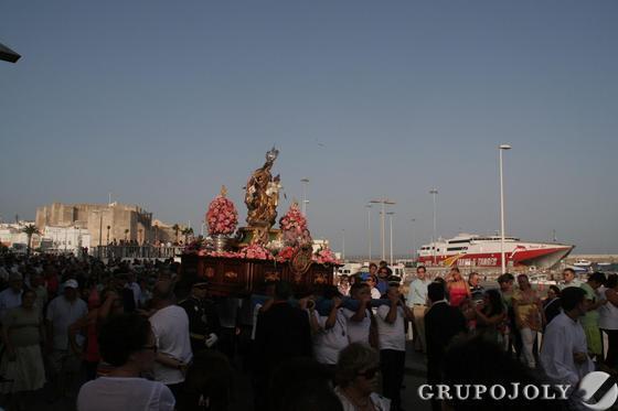 Virgen del Carmen de Tarifa.  Foto: Shus Terán
