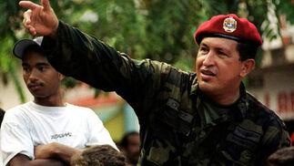 Chávez de militar en 2000.  Foto: Reuters