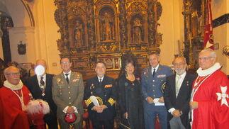 Fernando Caballero, Juan Carlos  Gómez, Amparo Serrano, Antonio Francisco Gallego y Pepe Macías.
