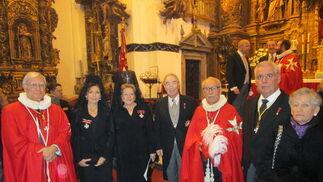 Manuel Navarro, María del Carmen Vargas, Alicia Jiménez Ponce, José Ossorio, Antonio Martín-Arroyo, Antonio Cordero y Beatriz Baleyron.