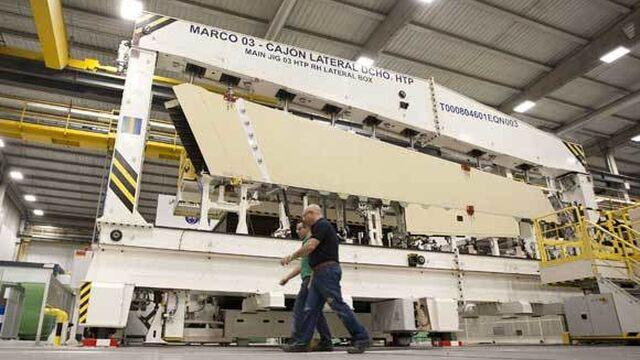 Airbus duplicar la plantilla dedicada al a350 en puerto real for Gimnasio 360 puerto real