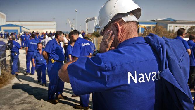 La plantilla de Navantia-Puerto Real celebrará una asamblea a primera hora de la mañana de hoy.