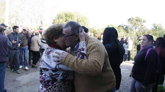 El representante de los vecinos, Diego Llopis, celebró la paralización de los derribos.