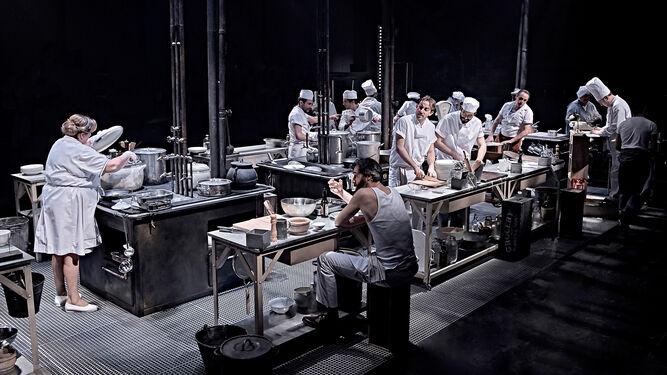 El teatro sue a con la cocina for Teatro la cocina