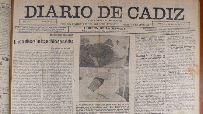 Una matanza acabó con la revuelta de Casas Viejas