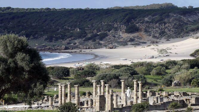 Vista del conjunto arqueológico de Baelo Claudia.