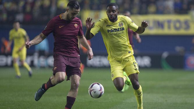 Un momento del Roma Villarreal