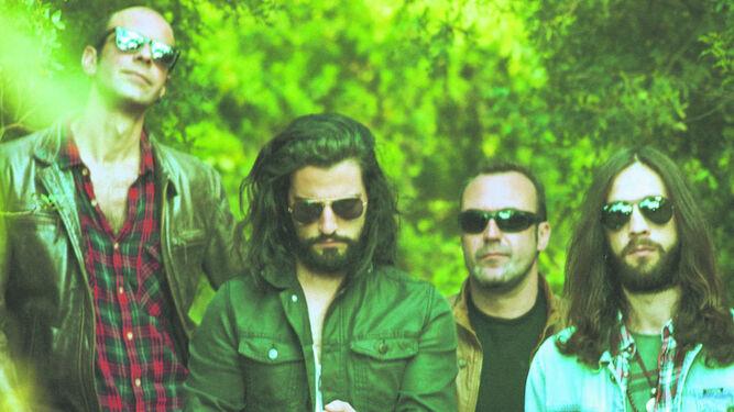 Varios miembros de The Electric Alley.