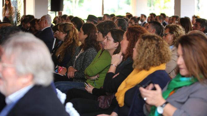 El encuentro convocó a más de 150 personas interesadas por las jornadas que se desarrollan en el Real Club de Golf Iberostar Novo Sancti Petri.