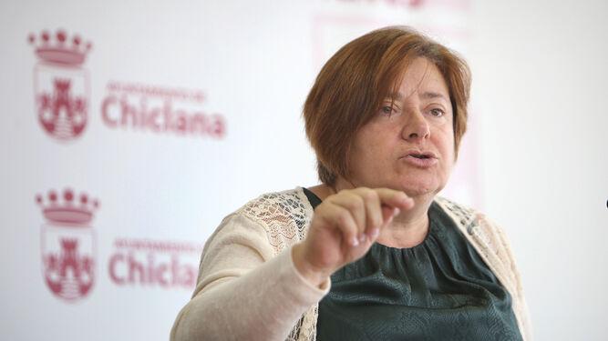 Cándida Verdier (PSOE), delegada de Vías y Obras.