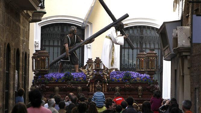 El Nazareno del Amor, en la calle.