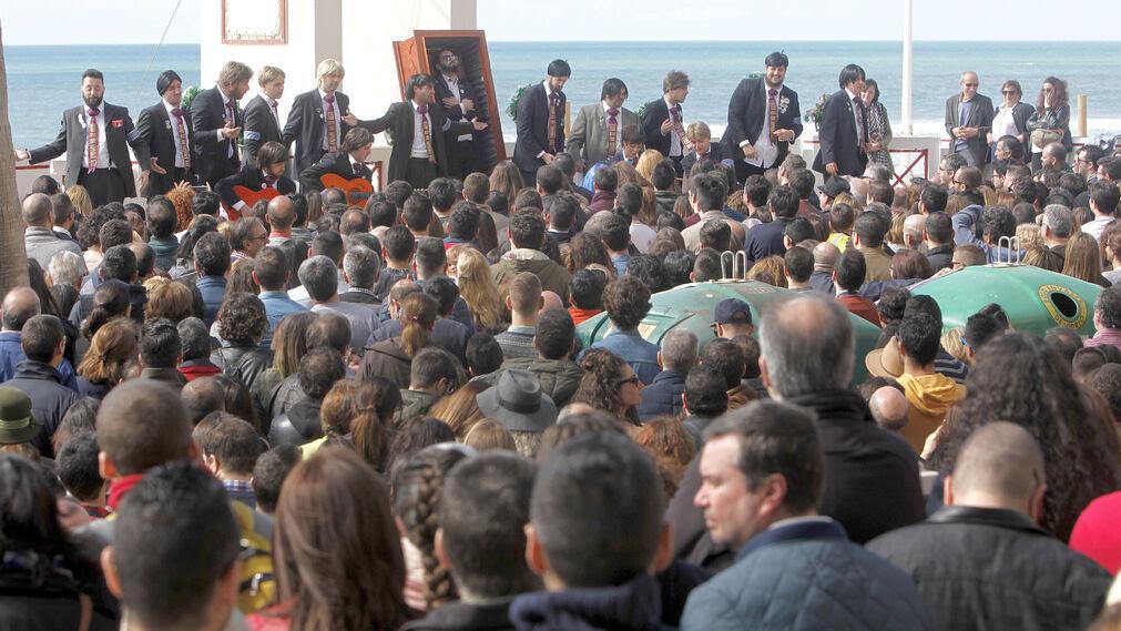 Batalla de Coplas en el Paseo Marítimo