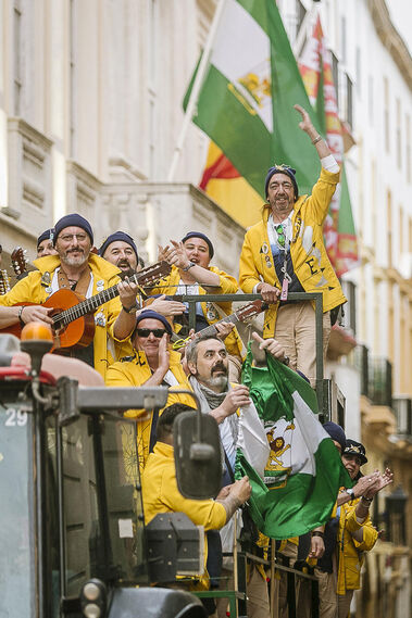 Las imágenes del Martes de Carnaval