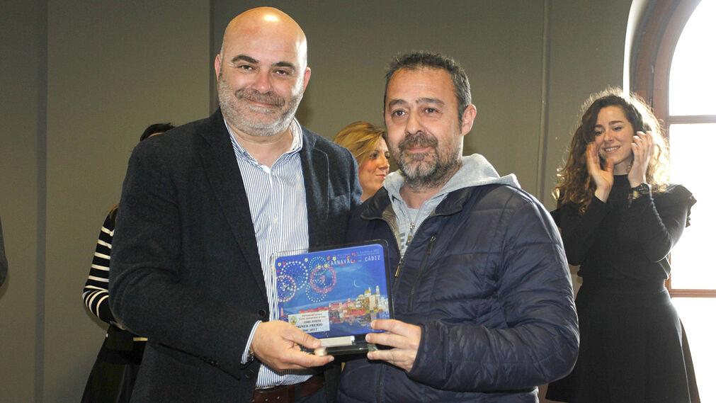 Las imágenes de la entrega de premios del Concurso Oficial de Agrupaciones del Gran Teatro Falla