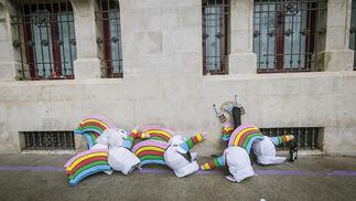 Las imágenes del Domingo de Piñata