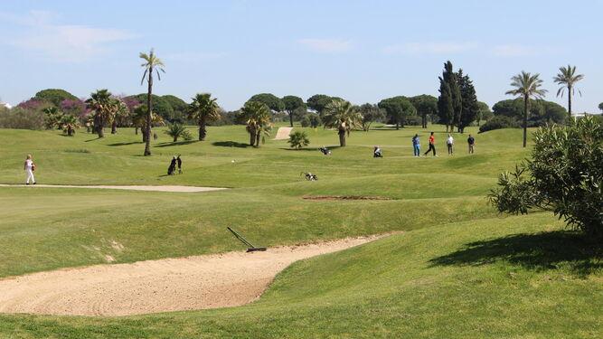 El green del Villanueva Golf estaba el pasado sábado a pleno rendimiento durante la celebración del 'Torneo de Golf Osborne'.