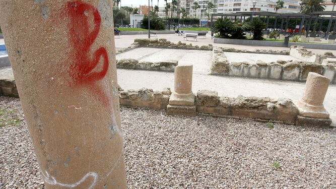 Vandalismo contra el patrimonio