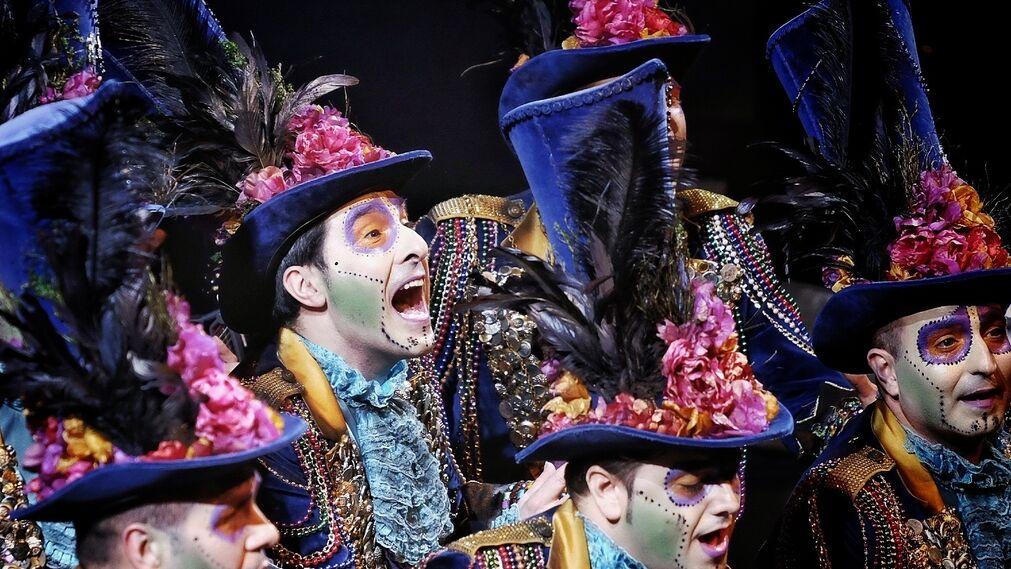 La función carnavalesca del Liceo de Barcelona, en imágenes