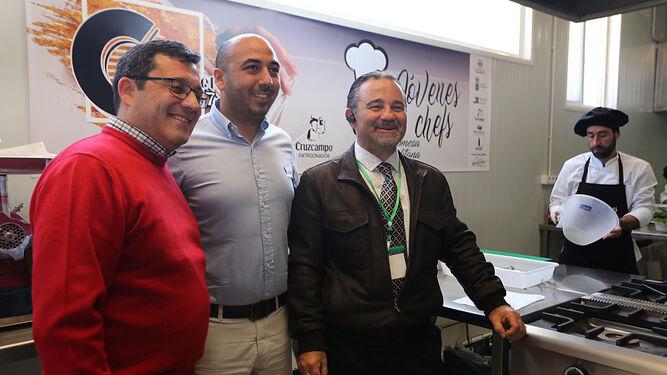 Vittorio Canu, Adrián Sánchez y Juan Carlos Rodríguez.