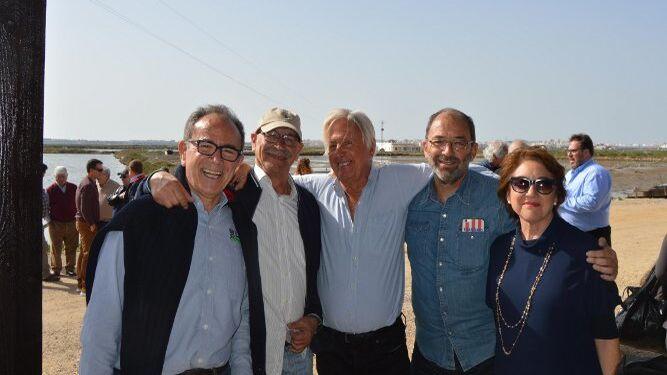 Jerónimo Andreu, Pablo Juliá, Julio Malo de Molina, Fernando Santiago e Isa Pozuelo.