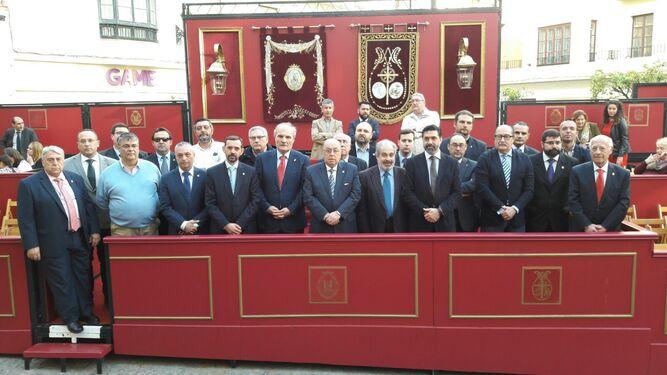 El Consejo de hermandades, en el Palillero.