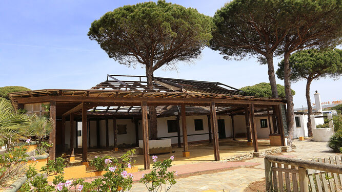 Vista de la Casa del Guarda, que se espera que comience a funcionar este verano.