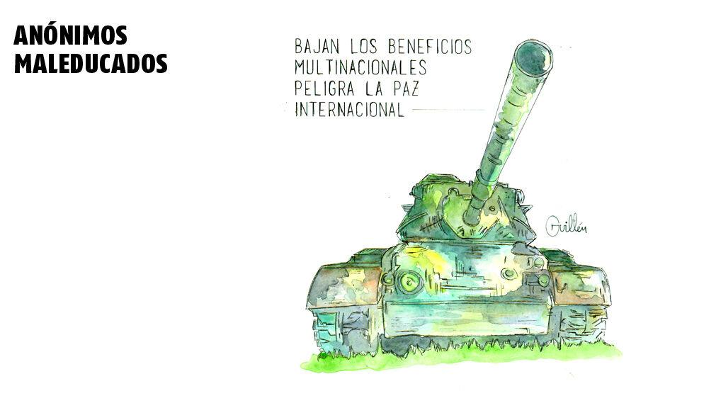 Bajan los beneficios multinacionales peligra la paz internacional