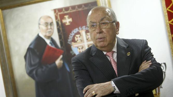 Martín José García, presidente del Consejo de Hermandades.