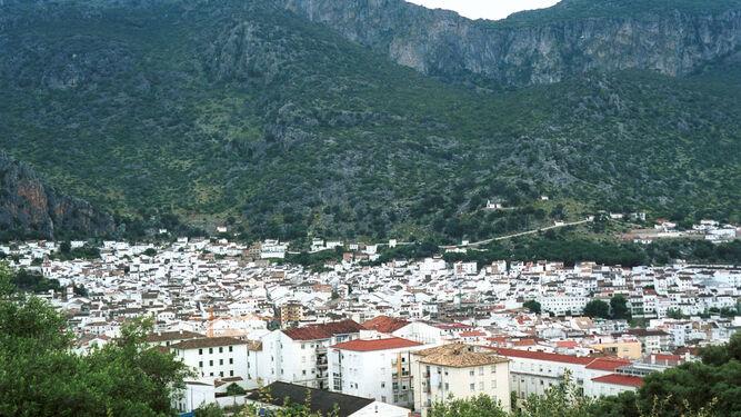 Una vista del municipio de Ubrique.