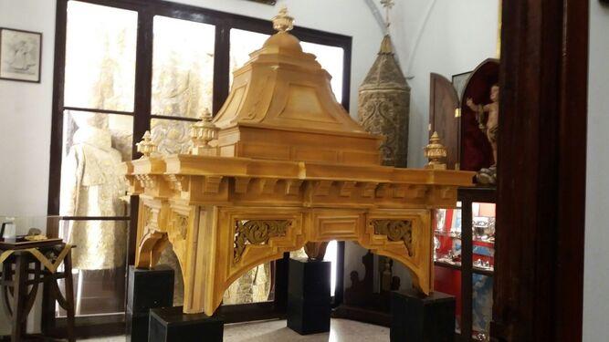 La moda del templete