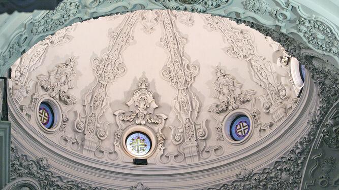 La cúpula de la iglesia de Santo Domingo.