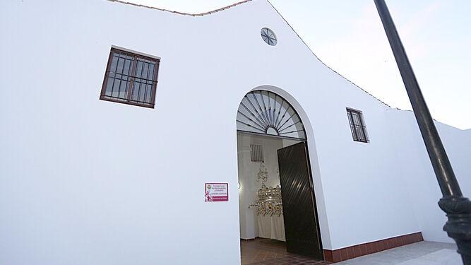 Vista del nuevo centro cofrade situado en la calle Costaleros.