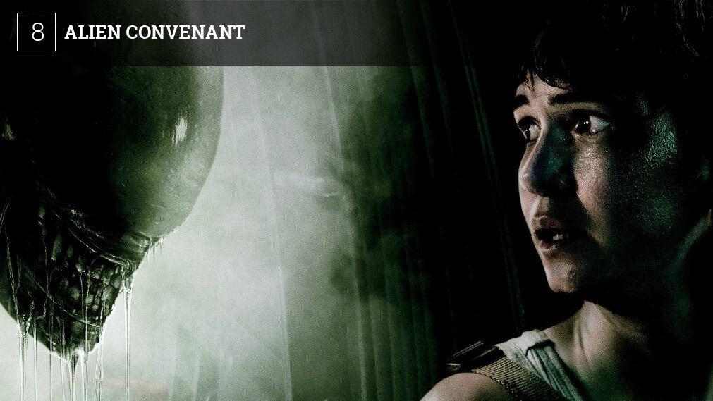 'Alien Covenant' en el Teatro Municipal de San Francisco de Vejer. Horarios: viernes 19 (21.00), sábado 20 (21.00) y domingo 21 (18:30).