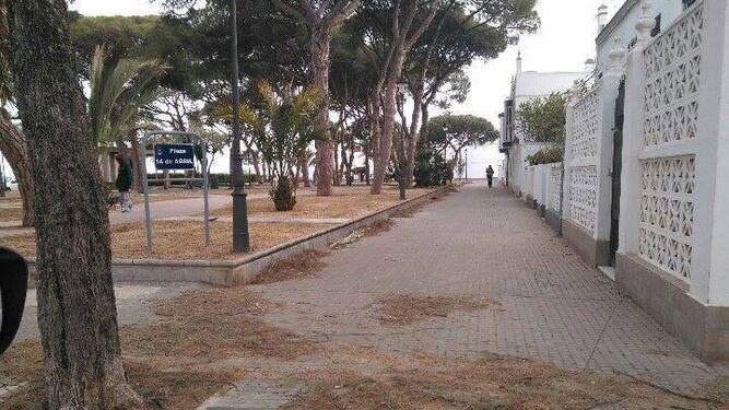 La barriada de La Playa denuncia su mal estado