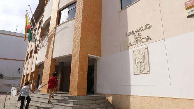 Vista del Palacio de Justicia de Chiclana, a la espera desde hace años de un nuevo juzgado.