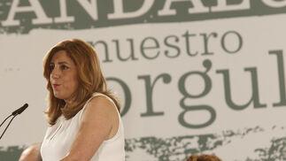 Díaz en el discurso del Comité Director.