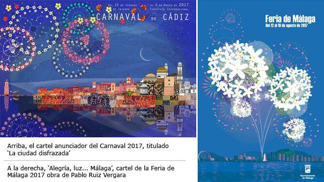 Pol mica por el parecido del cartel de la feria de m laga for Feria outlet malaga 2017