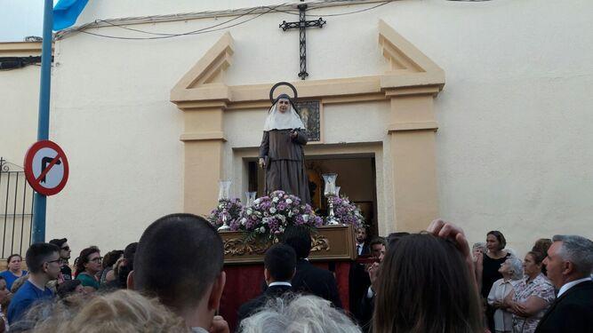 La procesión de Santa Ángela cierra el aniversario