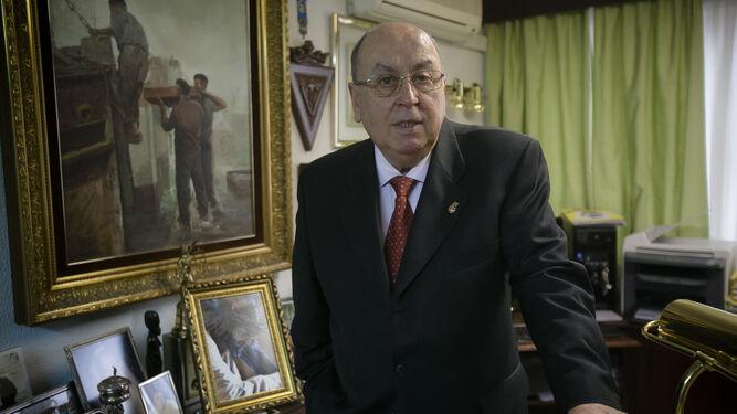 El presidente del Consejo Local de Hermandades y Cofradías, Martín José García.