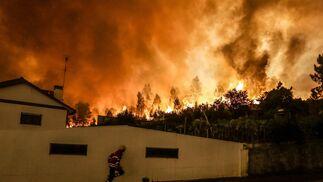Las imágenes del grave incendio en Portugal