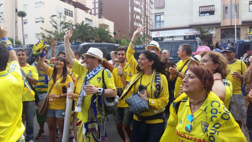Las imágenes del Tenerife-Cádiz