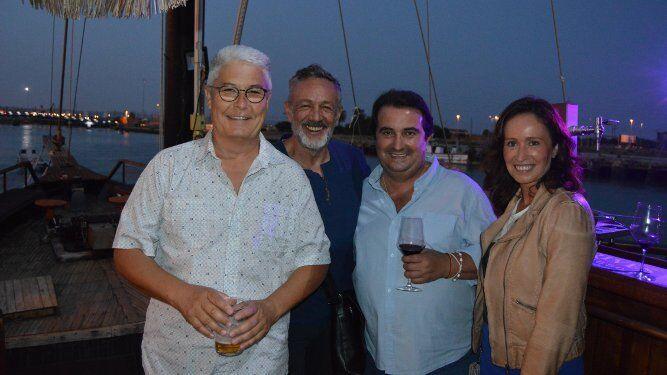 Tati Anelo, Rafa Sánchez de La Unión, Antonín Fariñas y Xenia Casanova.