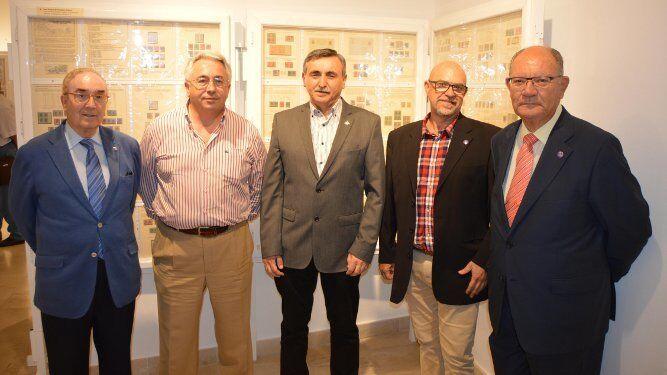 Pepe Ossorio, Miguel González Saucedo, José Antonio Casas, Paco Velázquez y José Palma.