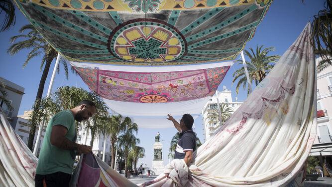 Ciudadanos pide que se instalen toldos en las calles for Toldos juan de dios