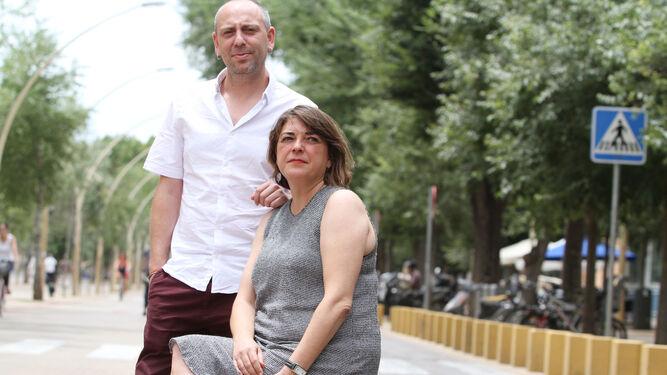 Ernesto Alba y Elena Cortés, en Sevilla.