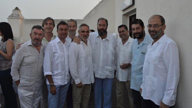 Miguel Ángel Martínez Villar, Fernando Pérez, Ángel Núñez, Carlos Alarcón, Salvador Celada, Antonio Hernández Rodicio, Fernando Estrella, Fabián Santana y Fernando Santiago.