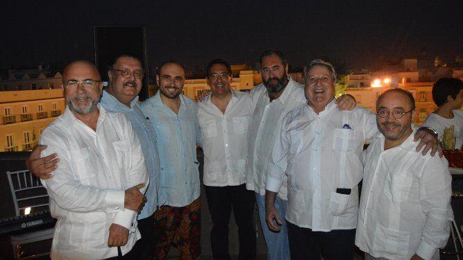 Carlos Rosado, Jorge Hernández, Antonio Pulido, Antonio Hernández-Rodicio, Gabriel Gómez Campos y Kiki Hernández.
